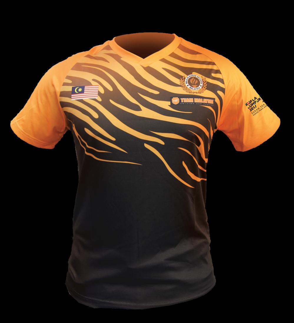 Kl2017 Team Malaysia Tshirt Team Malaysia