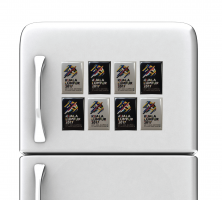 KL2017 FRIDGE MAGNET BADGE