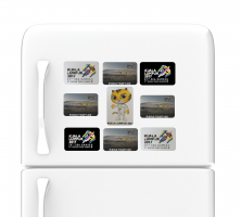 KL2017 FRIDGE MAGNETIC STRIPES
