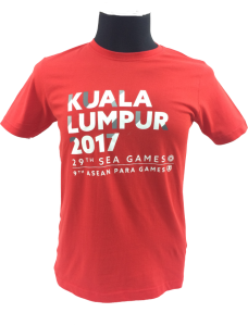 KL2017 KL KIDS COTTON TSHIRT (RED)