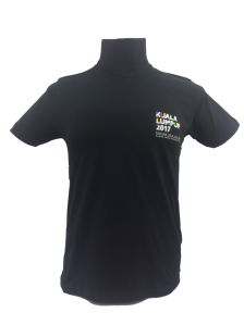 KL2017 KL KIDS COTTON TSHIRT (Black)