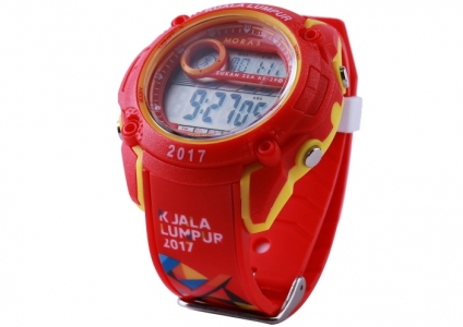 Digital Watch (Red)